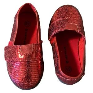 Airwalk Sparkly Red Shoes - Toddler's Size 5.5